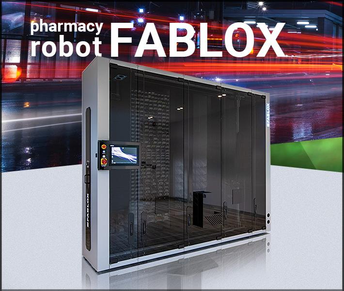 Pharmacy Robot FABLOX